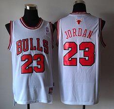 aad9ca39b Wholesale Nike NBA Chicago Bulls 23 Michael Jordan New Revolution 30 Swingman  White Jersey Cheap