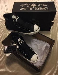 8619bd05f796 ... MASTERMIND JAPAN x CONVERSE Limited Edition SOLD OUT ALL STAR 100 Z HI  US 6.5  Converse Chuck Taylor ...