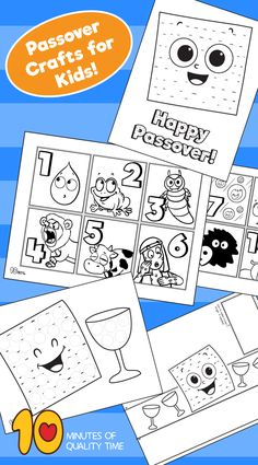 Passover crafts for kids - Trend Topic For You 2020 Activities For Adults, Kindergarten Activities, Preschool Activities, Bible Coloring Pages, Christmas Trends, Quality Time, Kind Mode, Holiday Crafts, Crafts For Kids