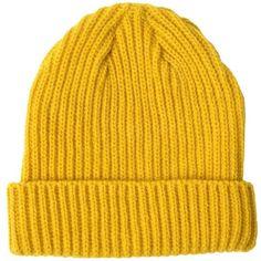 e28dc71bd25 JEREMY SCOTT  Bart  Knit Tie Beanie Hat (780 BRL) ❤ liked on ...