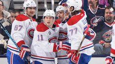 Pacioretty, Gallagher, Plekanec et Gilbert Montreal Canadiens, Max Pacioretty, Ice Hockey, Hui, Sports, Sport, Hockey Puck, Hockey
