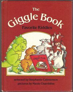 Children's Book ~ THE GIGGLE BOOK ~ Stephanie Calmenson