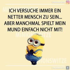Happy Minions, Positive Words, Smiley, Lol, Cool Stuff, Quotes, Cartoons, Friends, Irony Humor