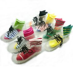 Transparent Women's Jelly Martin Gum Boots: endless fashion possibilities <3