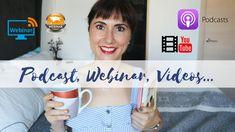 💬¿Qué es un Podcast, un Webinar, Vídeos de motivación...? - YouTube