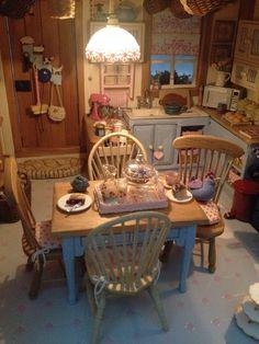 my own dollhouse kitchen
