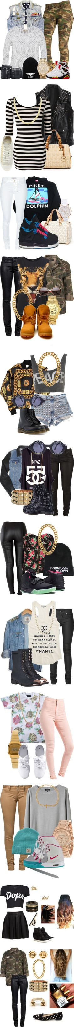 """Swag"" by mrkr-lawson ❤ liked on Polyvore"