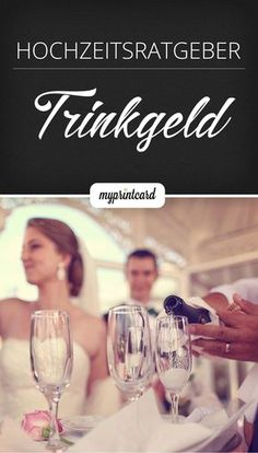 Trinkgeld bei der Hochzeit – Die wichtigsten Fragen und Antworten