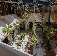 El Huerto de Lucas, un mercado restaurante diseñado como una plaza de abastos