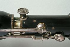 Clarinet in B♭/A - detail (Simiot, 1827)