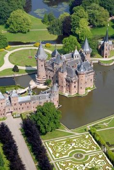 Castle De Haar Utrecht, the Netherlands.