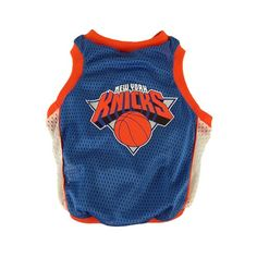 Sporty K9 NY Knicks Dog Basketball Jersey, Medium - http://www.thepuppy.org/sporty-k9-ny-knicks-dog-basketball-jersey-medium/