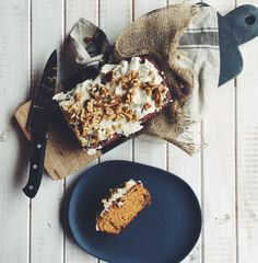 LUXE / HEALTH carrot cake…