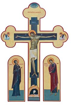 Pictures Of Jesus Christ, Trinidad, Byzantine Icons, Medieval Armor, Holy Week, Religious Icons, Orthodox Icons, Crucifix, Virgin Mary