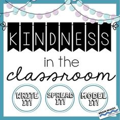 KindnessKindness ActivitiesThis resource includes 3 ways to promote a little kindness in the classroom.  Each activity is designed to help teachers build a culture of caring in their classrooms.  The activities are perfect to use at the start of a school year, before or after school breaks, or anytime your classroom could use a good dose of kindness!Youll find 3 ways to promote kindness in the classroom in this resourceWRITE IT:   In this activity, students learn about how to give a great…