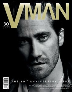 Jake Gyllenhaal for V Magazine Man Fall/Winter 2013/2014 Cover   The Fashionography