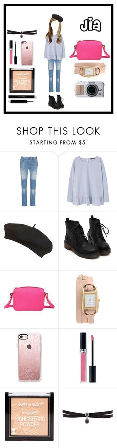 """shopping👜"" by kyomueee ❤ liked on Polyvore featuring STELLA McCARTNEY, Violeta by Mango, Topshop, Sophie Hulme, La Mer, Casetify, Christian Dior and Fallon"