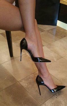 High Heel Boots, High Heel Pumps, Pumps Heels, Stiletto Heels, Stilettos, Stockings Heels, Nylons Heels, Black Stockings, Sexy Legs And Heels