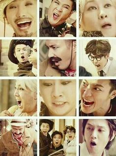 SJ the king of derp - EXO learned from SUJU hyungs