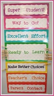 Behavior system: Can go up or down! LOVE!