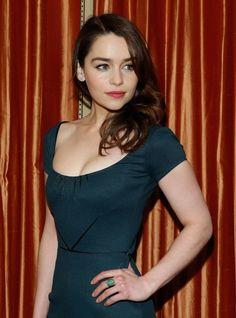 Emilia Clarke. I am seriously head over heels.