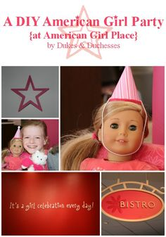A DIY American Girl Party at American Girl Place