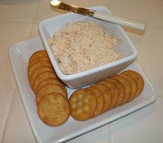Cheryl's Stinky Cheese Ball  Don't be fooled by the name, this dip is amazing!!!
