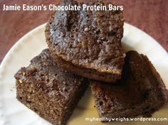 Jamie Eason's Chocolate Protein Bars recipe