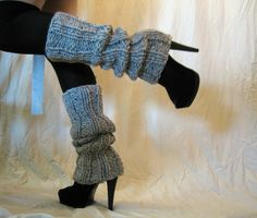 leg warmers and heels | Leg warmers and platform heels | My Style--or lack thereof