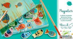 Картинки к Магнитная игра Веселая рыбалка Djeco (DJ01650) | Rozetka.ua