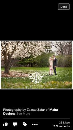 Gorgeous bride and groom portrait on a Beautiful spring day in Chicago. I love wedding portraits in spring! Chicago wedding photography by Maha Designs www.mahadesigns.com