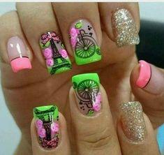 New nails 2018 tendencia largas 44 Ideas Trendy Nail Art, Stylish Nails, Nail Swag, Fabulous Nails, Perfect Nails, Luminous Nails, Moon Nails, Nails 2018, Super Nails