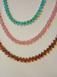 Necklace: St Petersburg Chain Beaded Necklace