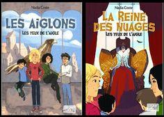 LES YEUX DE L'AIGLE (tome 1 à 3), de Nadia Coste - Ed. Gründ - A partir de 9 ans