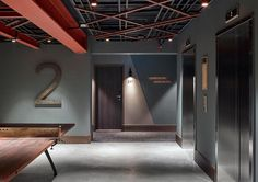 Hotel Hallway, Ping Pong Paddles, Ping Pong Table, Stairways, Front Desk, Furniture Making, Campers, Stockholm, Design