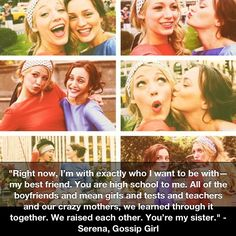 except minus high school (instead forever school) and minus our crazy mother(s) ... we are pretty much gossip girl. in delco.