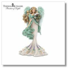Thomas Kinkade Angel Figurines | Thomas Kinkade Angel Figurines 6/16/15