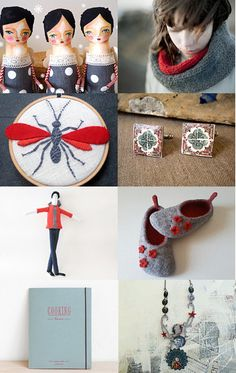A splash of red in a grey sky by Ana Ribeiro on Etsy--Pinned with TreasuryPin.com #PTteamEtsy #ChristmasColorsProject #EtsyEurope #Portugal