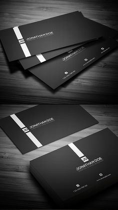 Minimal Business Card #businesscards #printready #letterpress #creativebusinesscards