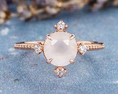 HANDMADE RINGS & BRIDAL SETS by MoissaniteRings on Etsy Bridal Ring Sets, Handmade Rings, Gold Rings, Etsy Seller, Rose Gold, Brooch, Engagement Rings, Jewelry, Enagement Rings