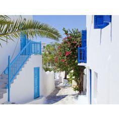 Mykonos (Hora), Cyclades Islands, Greece, Europe Photographic Wall Art Print