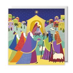 Bright #nativity scene #Christmas #cards, pack of 10 | #Oxfam GB | Shop