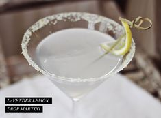 Lavender Lemon Drop Martini | Rue