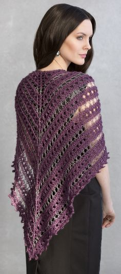 Teresa Shawl in CRYSTAL & TIVOLI http://tahkistacycharles.com/t/pattern_single?products_id=2087