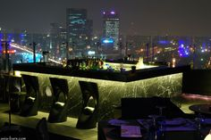 Blu sky Bangkok