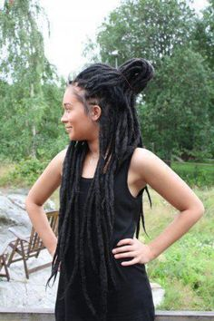 Incredible 1000 Images About Long Dreads On Pinterest Locs Dreads And Hairstyles For Women Draintrainus