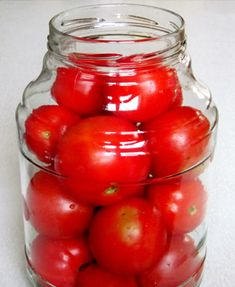 Roșii extraordinare ca din butoi - o metodă excelentă de conservare a roșiilor! - Bucatarul Marinated Tomatoes, Home Canning, Conservation, Vegetables, Cooking, Sauces, Kitchen, Canning, Vegetable Recipes
