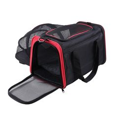 Lumsing Expandable Foldable Soft-sided Travel Carrier for Dogs and Cats -- For more information, visit image link. (This is an affiliate link) #DogCarriers