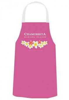 Gerard Aflague Collection Store - Chef's Apron - Plumeria w/Chamorrita, $21.99 (http://www.gerardaflaguecollection.com/chefs-apron-plumeria-w-chamorrita/)
