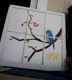 old window that i painted :)